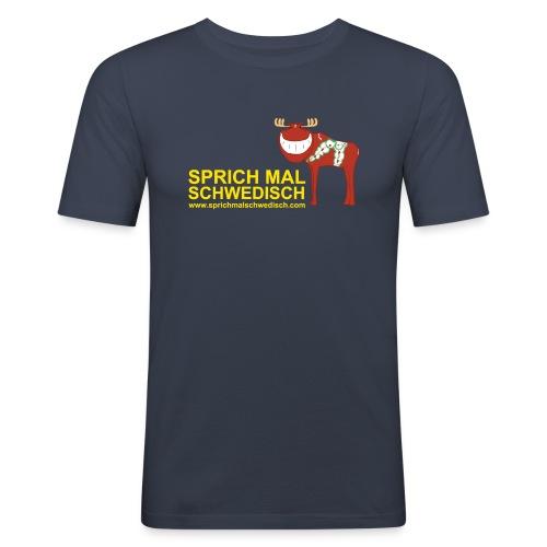 (Motiv Vorn) - Männer Slim Fit T-Shirt