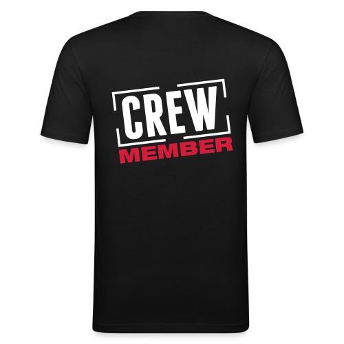 Crew - Slim Fit T-shirt herr
