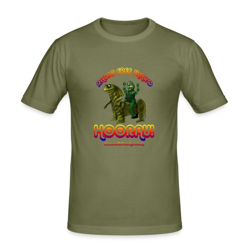 Hooray! (Slim T-Shirt) - Men's Slim Fit T-Shirt