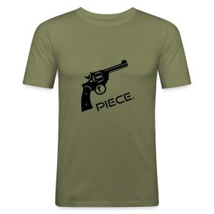 Revolver Piece Shirt - Männer Slim Fit T-Shirt