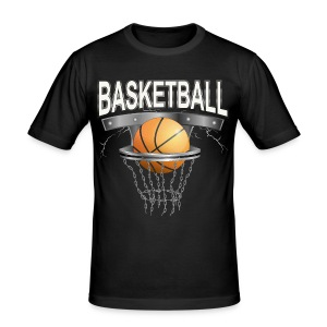 Basketball T-shirt - Männer Slim Fit T-Shirt