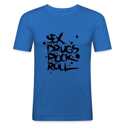 Sex, dugs & Rock n Roll - slim fit T-shirt
