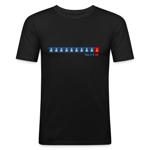 LoL Fanshirt - Waiting Line - Männer Slim Fit T-Shirt