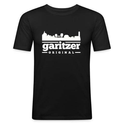 garitzer ORIGINAL Shirt mit Skyline - Männer Slim Fit T-Shirt