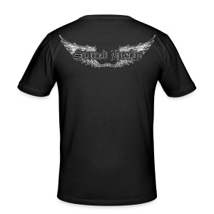 Wings support - slim fit T-shirt