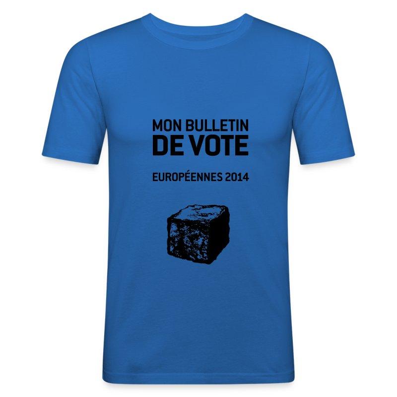 T-SHIRT homme près du corps européennes 2014 - Tee shirt près du corps Homme