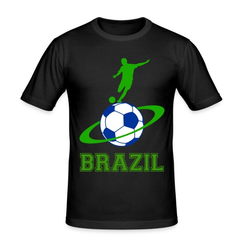 Brazil sport 03 - Men's Slim Fit T-Shirt