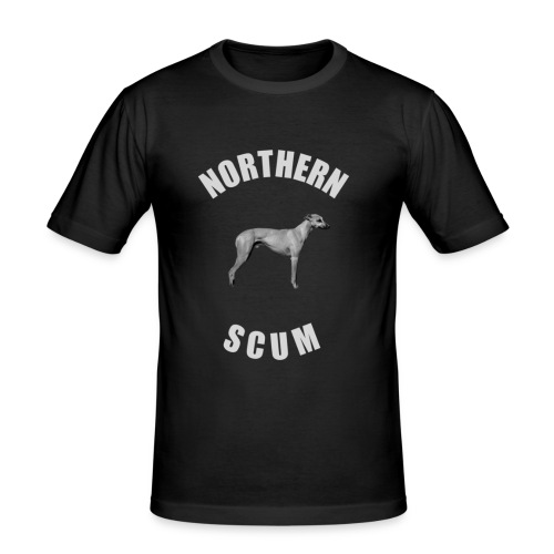 Northern Scum slim fit - Men's Slim Fit T-Shirt