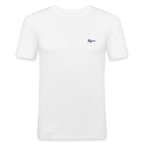 Männer Slim-Fit Shirt, ROYC klein/einfarbig Flock-Druck - Männer Slim Fit T-Shirt
