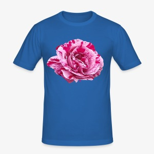 Rose zébrée - Men's Slim Fit T-Shirt
