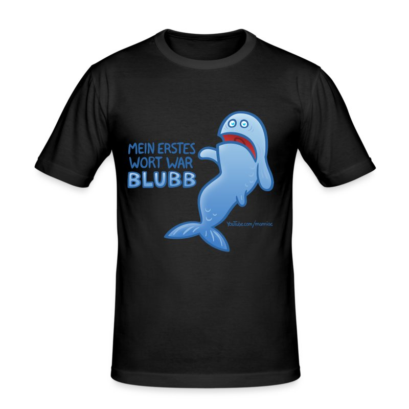 BLUBB! Slim Boys - Männer Slim Fit T-Shirt