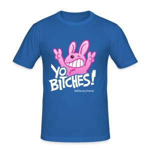 YO BITCHES! Slim Boys - Männer Slim Fit T-Shirt