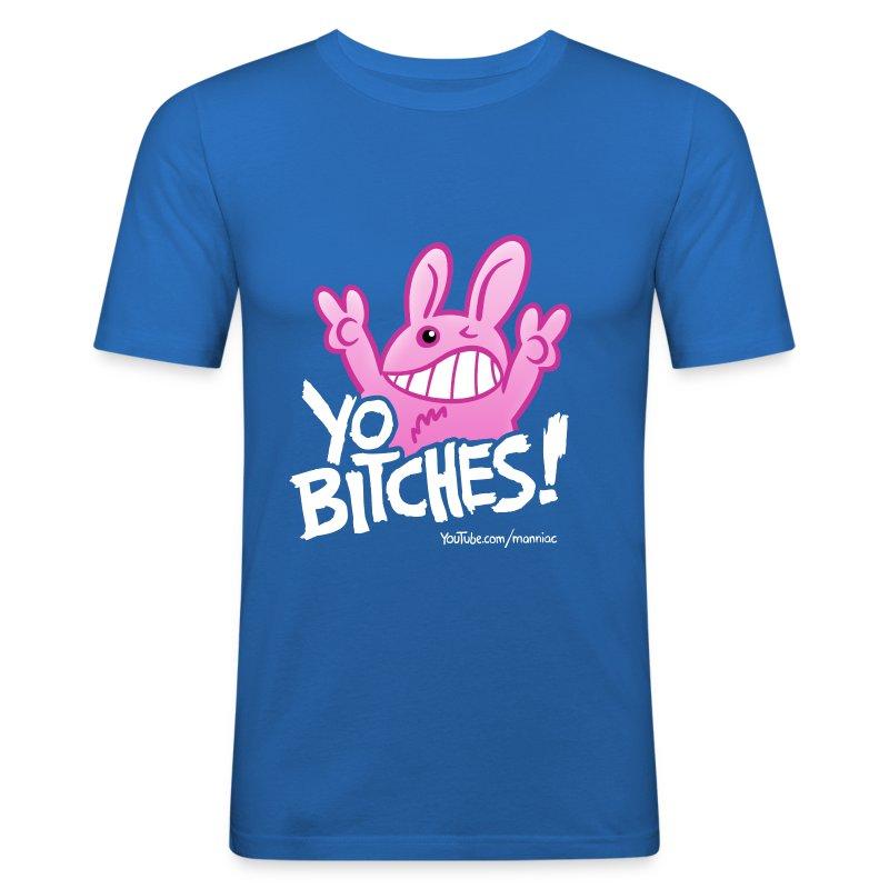 YO BITCHES! Slim Boys - Männer Slim Fit T-Shirt