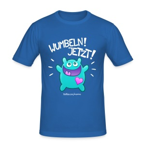 WUMBELN! Slim Boys - Männer Slim Fit T-Shirt