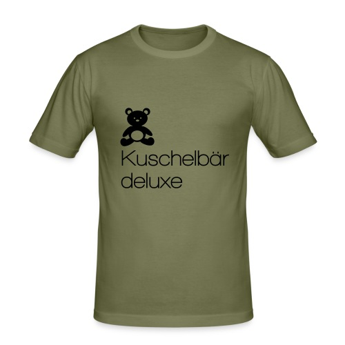 Kuschelbär Deluxe - Männer Slim Fit T-Shirt