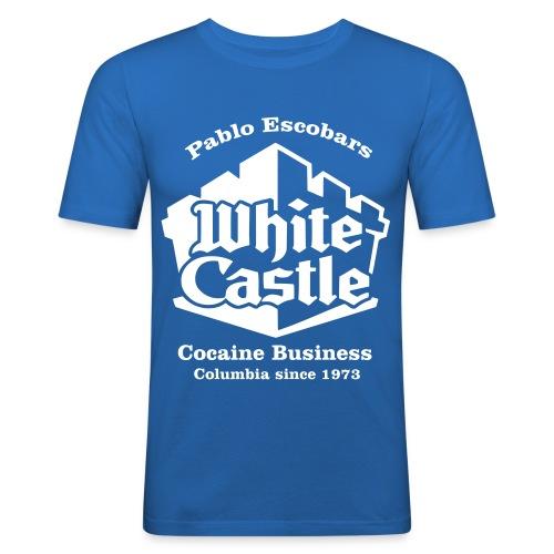 Escobar's White Castle - Männer Slim Fit T-Shirt