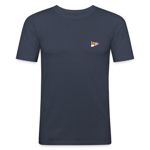 Männer Slim-Fit Shirt, ROYC klein/mehrfarbig Flock-Druck - Männer Slim Fit T-Shirt