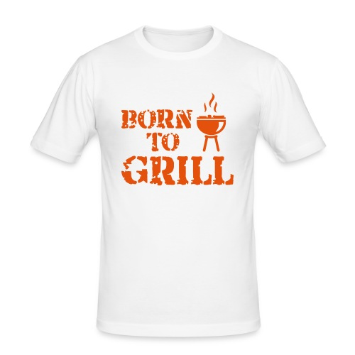 Born To Grill - Men's Slim Fit T-Shirt