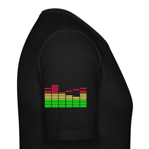 God was a DJ - Men's Slim Fit T-Shirt