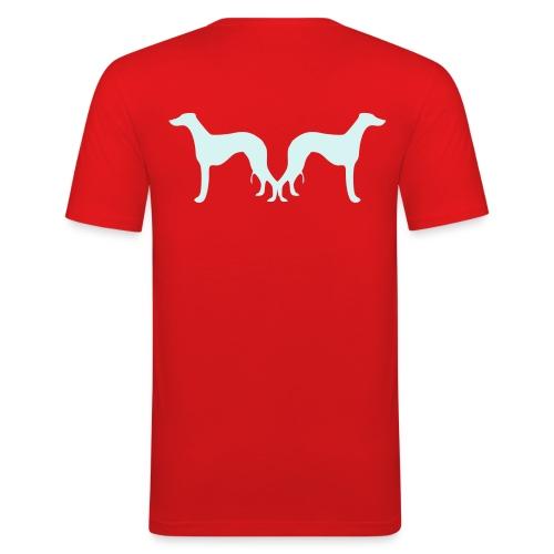 T-Shirt Whippet réflecteur - T-shirt près du corps Homme