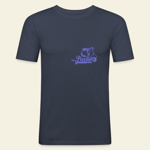 Retro  Piano  - Herre Slim Fit T-Shirt