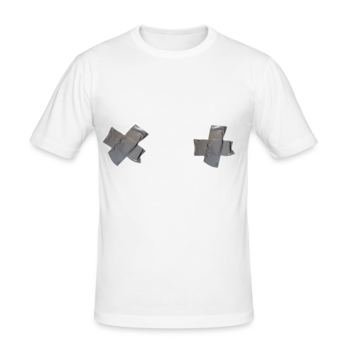 Taped up - Men's Slim Fit T-Shirt