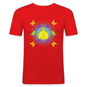 KATTGUDEN T-shirts - Slim Fit T-shirt herr