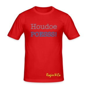 Houdoe Poess! T-shirt slimfit Men - slim fit T-shirt
