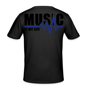 Music is my Life - slim fit T-shirt