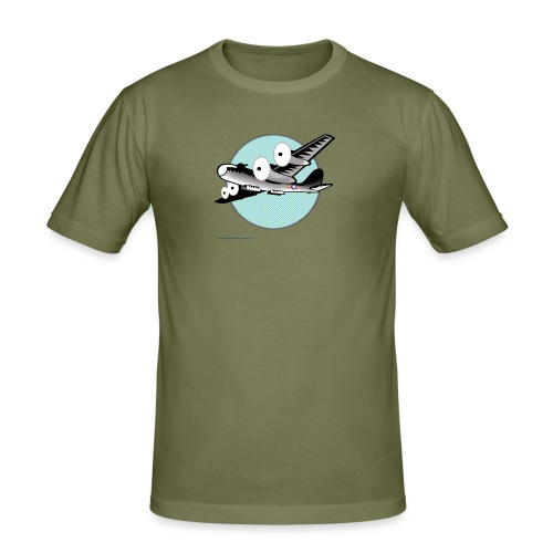 FRIENDLY KILLER - Men's Slim Fit T-Shirt