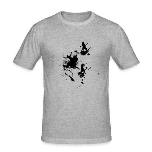 Splatta Band - Men's Slim Fit T-Shirt