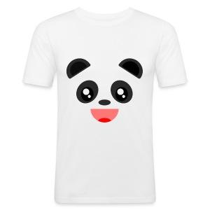Alan The Panda - Men's Slim Fit T-Shirt