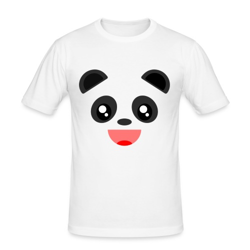 Alan The Panda - Men's Slim Fit T-Shirt
