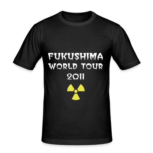 Fukushima World Tour 2011 - slim fit T-shirt