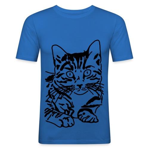 Kätzchen - Männer Slim Fit T-Shirt