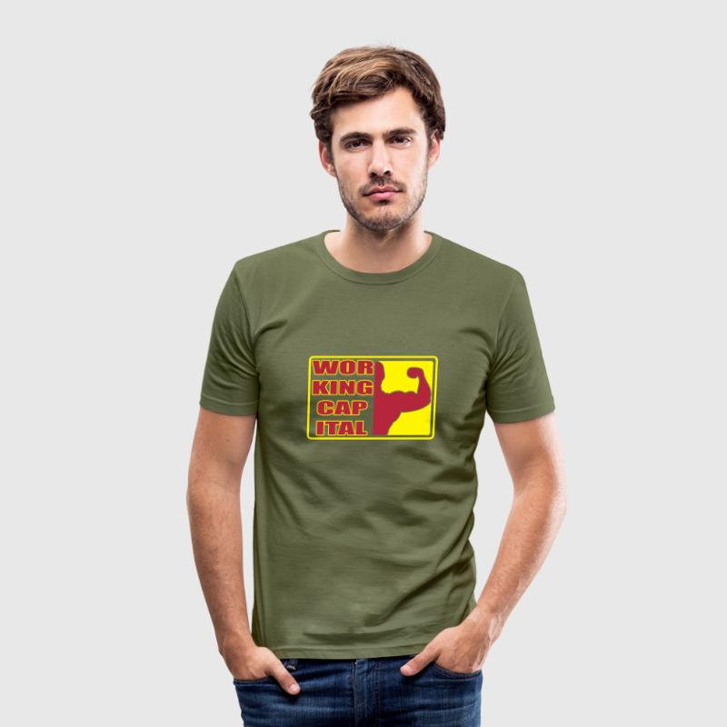 Working capital T-Shirts - Männer Slim Fit T-Shirt