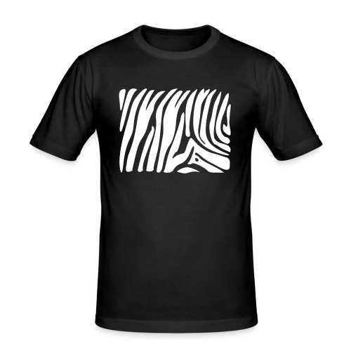 Zebra - Men's Slim Fit T-Shirt