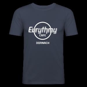 Eurythmy Cafe Dornach Slim-Shirt - Männer Slim Fit T-Shirt