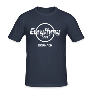Eurythmy Cafe Dornach Slim-Shirt - Männer Slim Fit T-Shirt