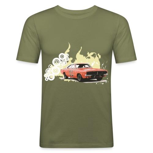 Muscle Car - Männer Slim Fit T-Shirt