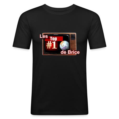 T-shirt Les Top10 de Brice Homme - T-shirt près du corps Homme