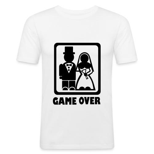 Brudgum tshirt - Slim Fit T-shirt herr