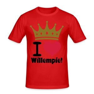 I love Willempie - slim fit T-shirt