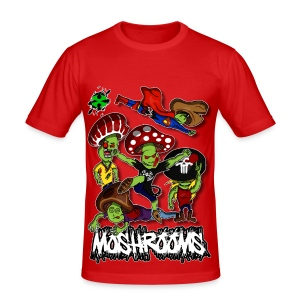 Moshrooms ♂1 - Männer Slim Fit T-Shirt