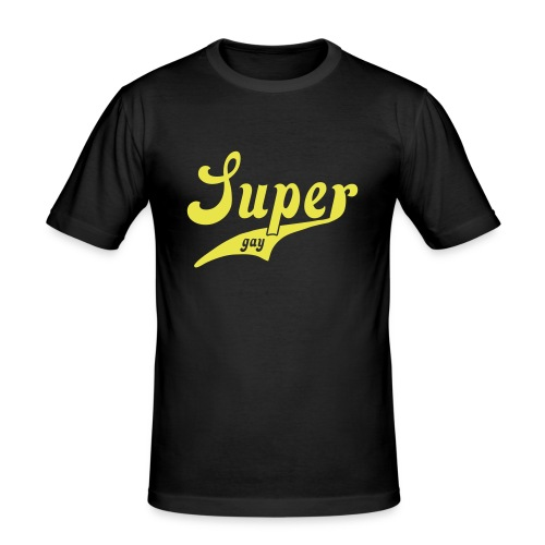 Super Gay - Men's Slim Fit T-Shirt