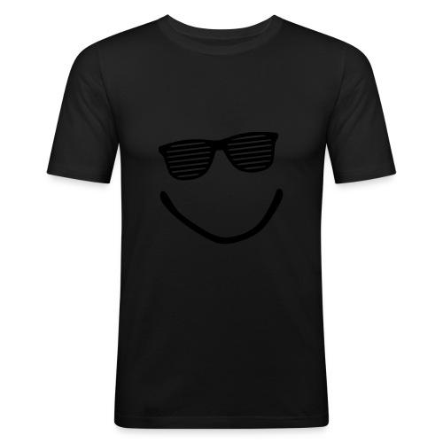 Herre T-skjorte ''Chill''   Trendyshirt - Slim Fit T-skjorte for menn