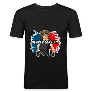 Officer Marley Design (Mens) - Men's Slim Fit T-Shirt