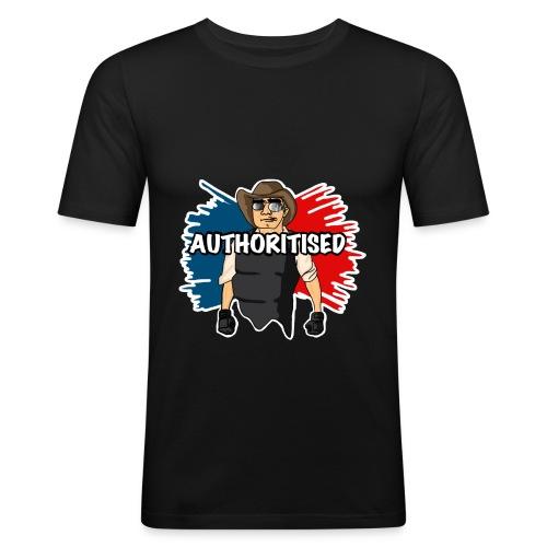 Officer Marley Authoritised Design (Mens) - Men's Slim Fit T-Shirt