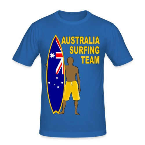 Australia surfing team - Men's Slim Fit T-Shirt