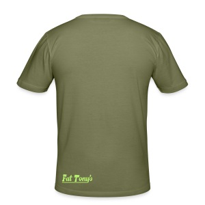 widefive / olive slimfit - Men's Slim Fit T-Shirt